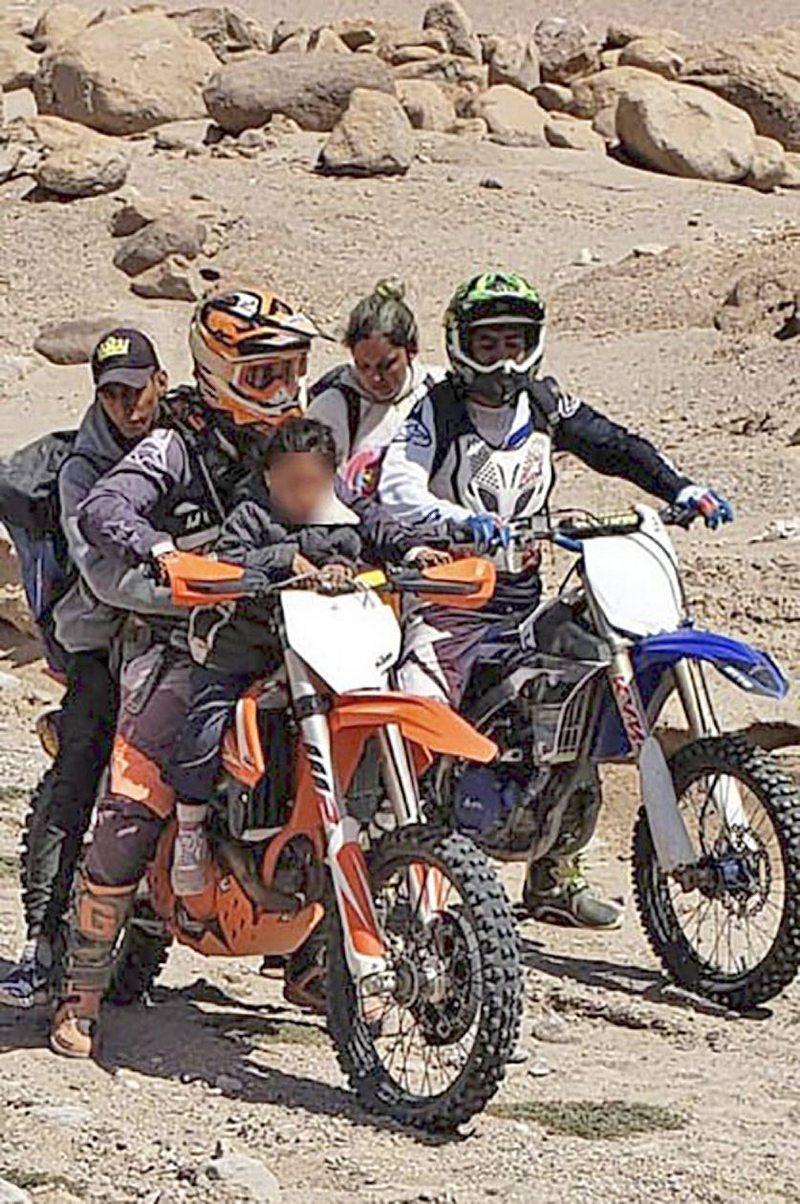 Estremecedor rescate de 23 personas perdidas en el desierto