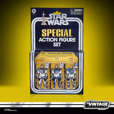 San Diego Comic-Con 2020 Exclusive Star Wars The Vintage Collection The Clone Wars 501st Legion Arc Troopers Figure 3 Pack by Hasbro