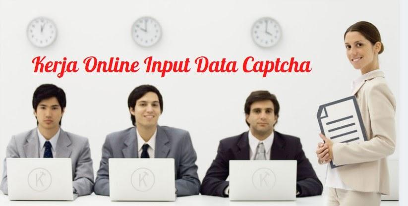 Online Work Input Data By Typing Captcha