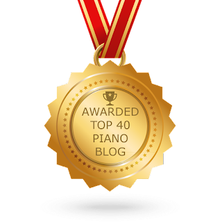 Awarded Top 40 Piano Blog