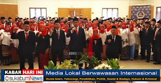 Bawaslu Kabupaten Sukabumi lantik Panwascam