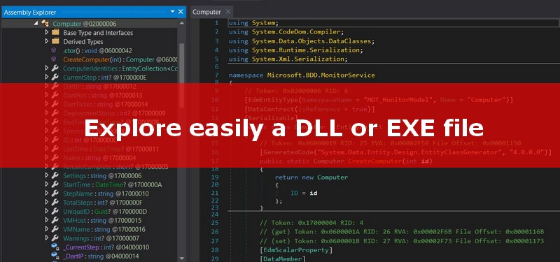 Explore an EXE or DLL with dnSpy - Syst & Deploy
