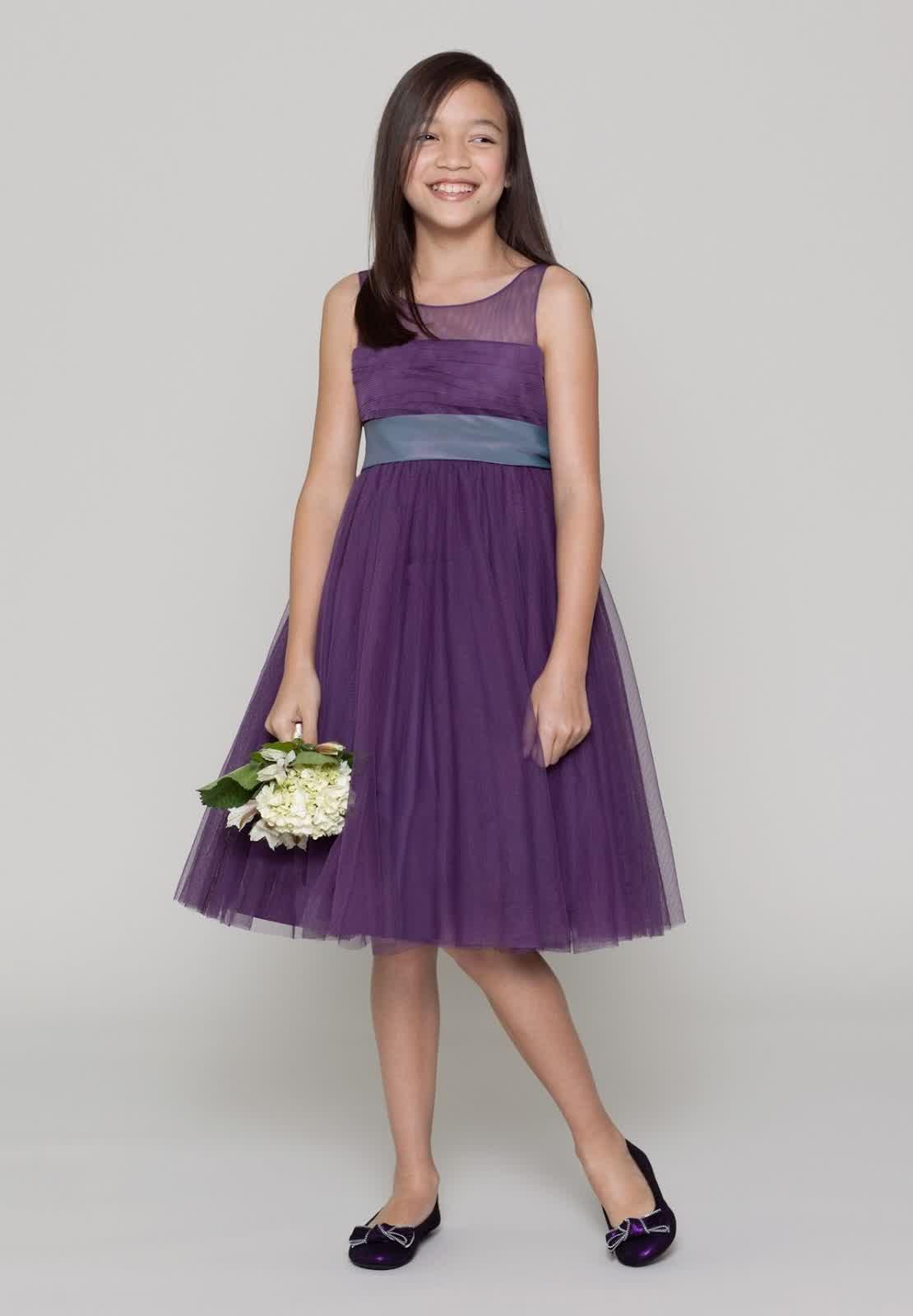 Wisteria Latest Junior Bridesmaid Dresses | bridal wedding trend