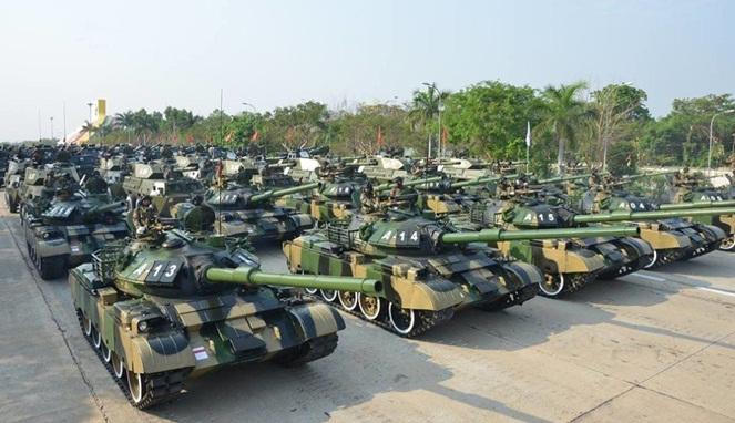 Negara Miskin Punya Tank Lebih Banyak dari Indonesia
