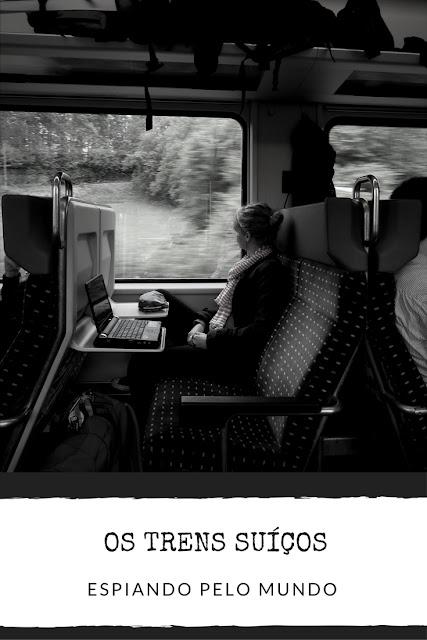 Os trens suíços