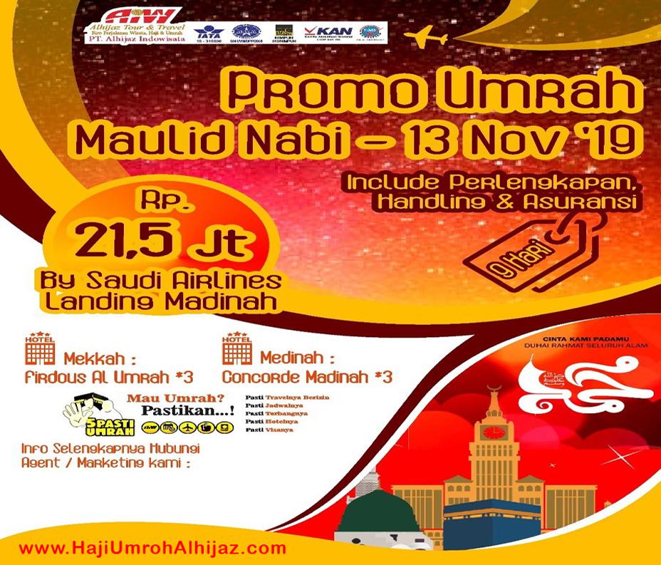 Travel Alhijaz Promo November 2019