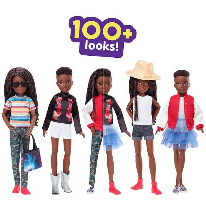 Barbie Manufacturer Launched Powerful Gender-Neutral Doll Collection