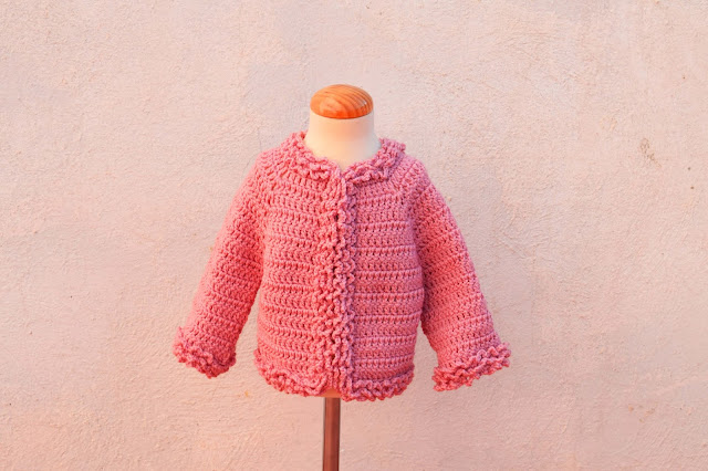 1 - Crochet Imagenes Chaqueta de invierno a crochet y ganchillo por Majovel Crochet