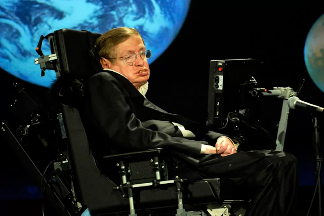 Professor Stephen Hawking Stephen Hawking Soon Be Going to Space All Thanks To Richard Branson
