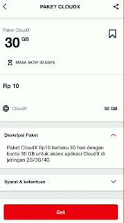 Kuota Telkomsel Murah 30 GB Cuma 10 Rupiah