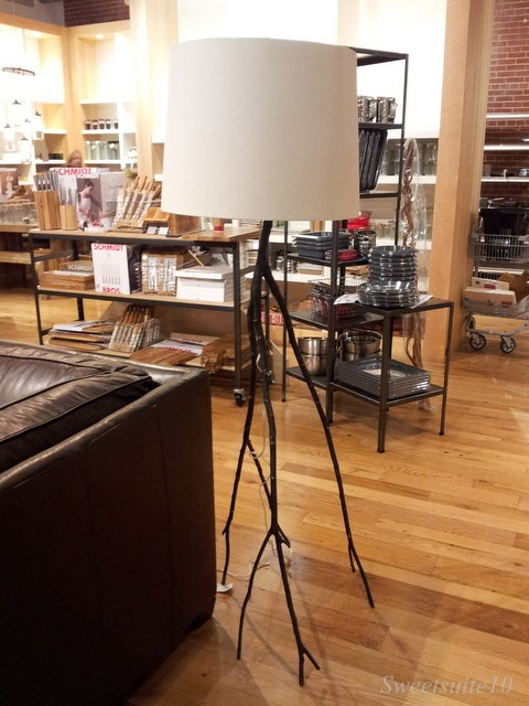 West Elm branch floor lamp