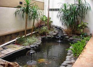 Desain Taman Buatan Agar Terlihat Alami Di Rumah Minimalis