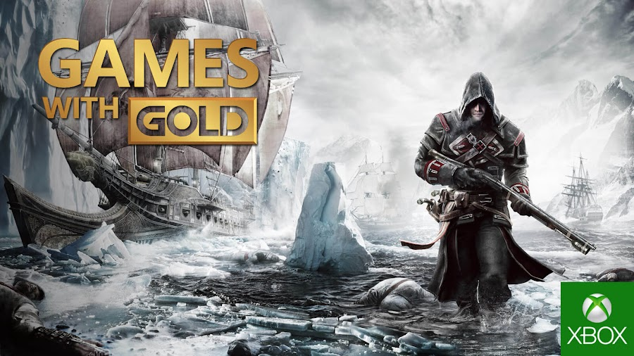 assassins creed rogue xbox live gold free game