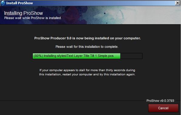 Hướng dẫn Cài đặt Proshow Producer 9.0.3797 Full mới nhất 6