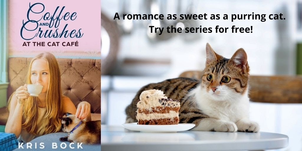 Coffee and Crushes at the Cat Café: a Furrever Friends Sweet Romance is now FREE at all retailers. #Freeebook #Romance #sweetromance #contemporaryromance #CleanRomance