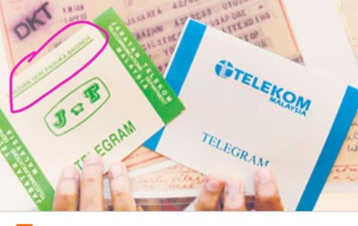 Kenangan Penggunaan Telegram Pada Masa Dahulu