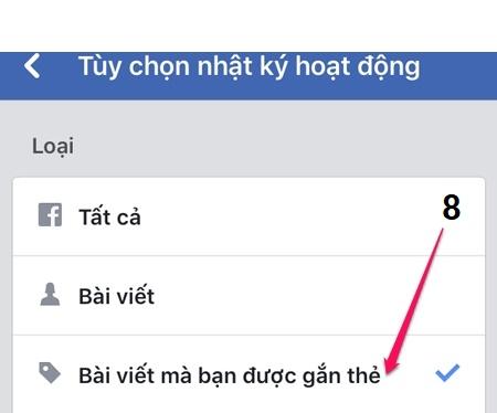 Cách chặn và gỡ thẻ khi bị tag trên facebook với máy tính và điện thoại