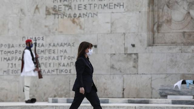 Κατερίνα Σακελλαροπούλου:  Μνημονεύουμε του Φιλέλληνες με συγκίνηση και ευγνωμοσύνη