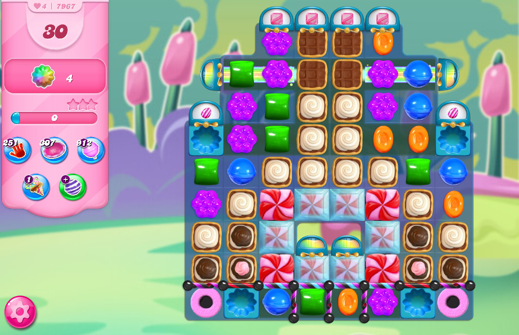 Candy Crush Saga level 7967