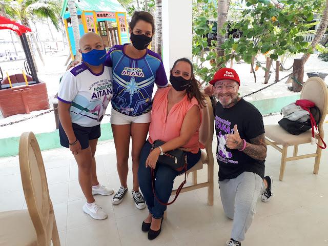 Irai Juárez, María Fernanda García, Jennifer de Llano y Chinos.