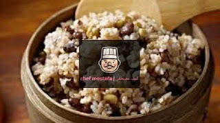 Rice with onions and raisins