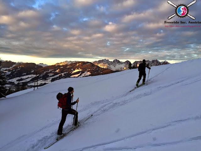 Skitour Ehrenbachhöhe Kitzbühel