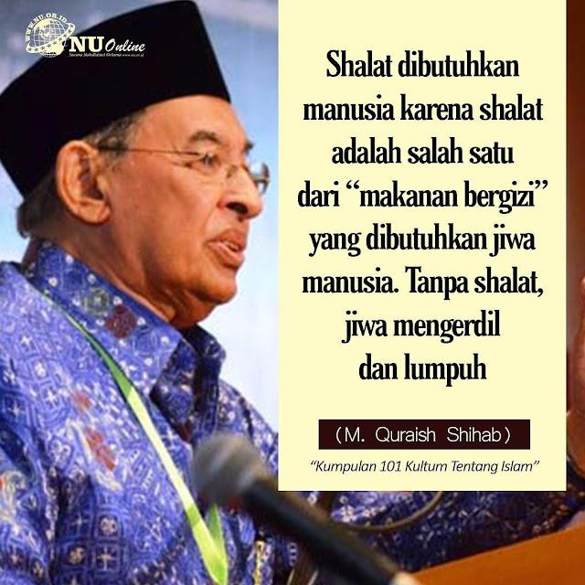Kata Mutiara Nasehat Hati dari KH. M. Quraish Shihab