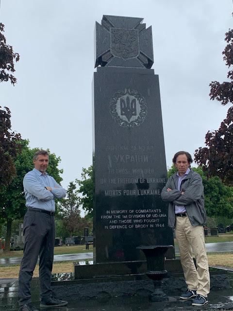 Ukraine Canada immigration Nazi memorial historical revisionism anti-semitism