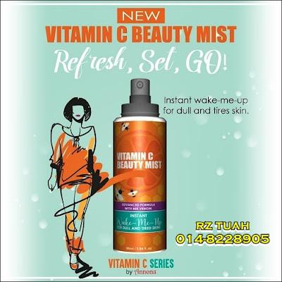 annona vitamin c beauty mist