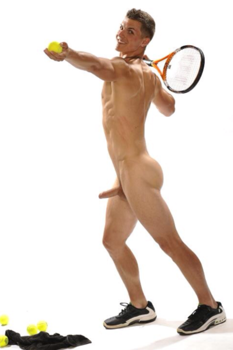 Would nude tennis stars playing tennis does not