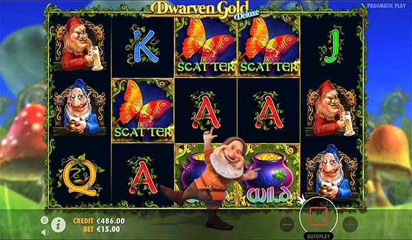 Main Gratis Slot Indonesia - Dwarven Gold Deluxe (Pragmatic Play)