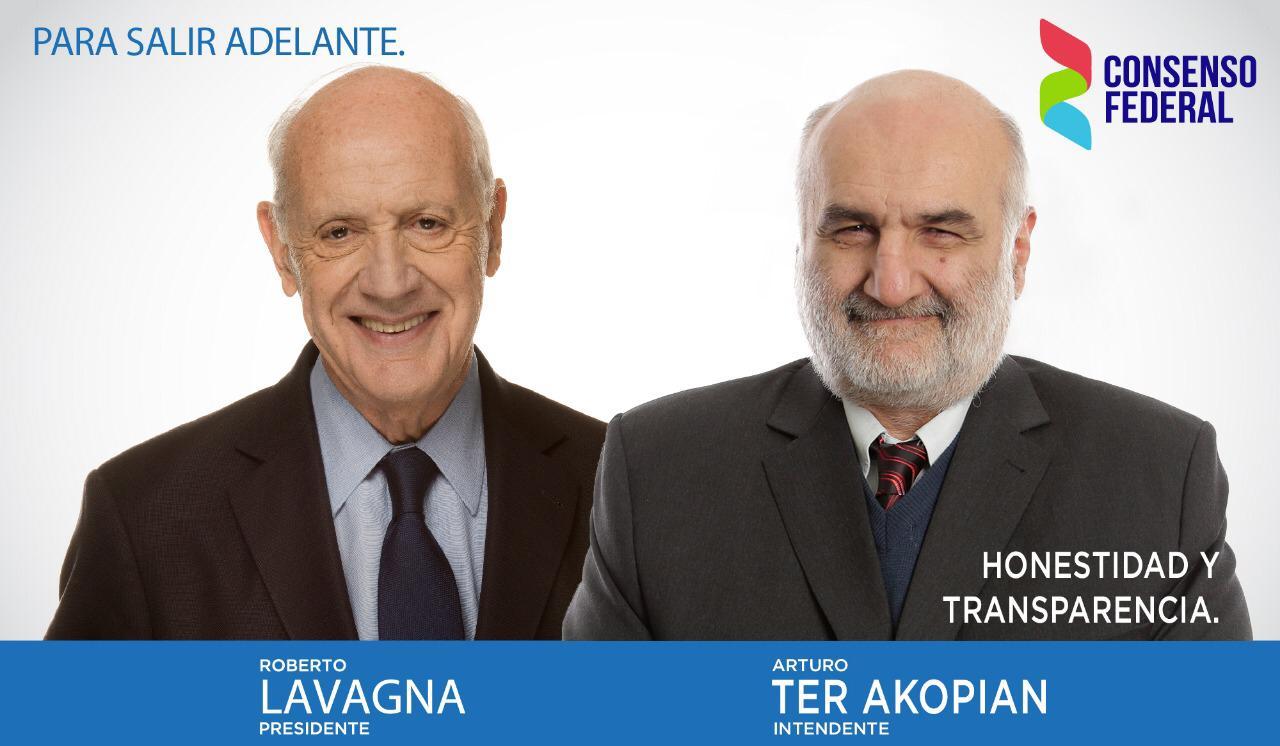 Arturo Ter Akopian presentó su candidatura a intendente de La Matanza