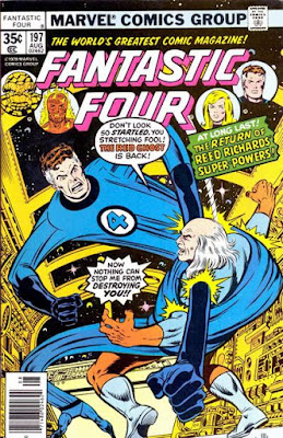 Fantastic Four #197, the Red Ghost