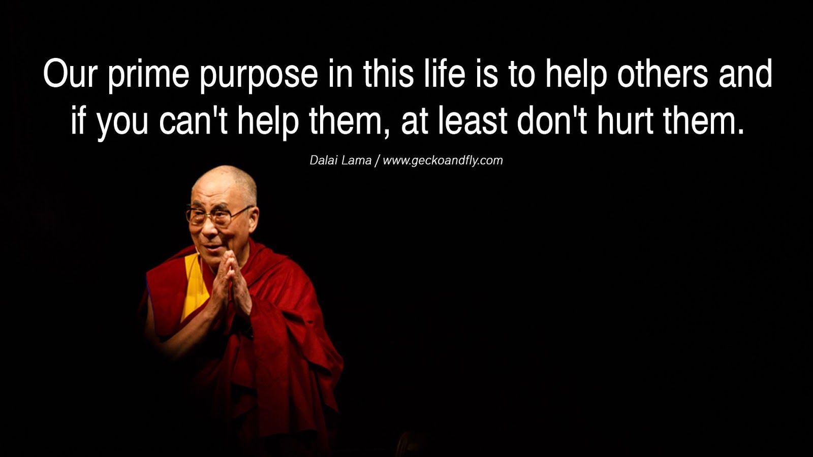 The 14th Tibetan Dalai Lama
