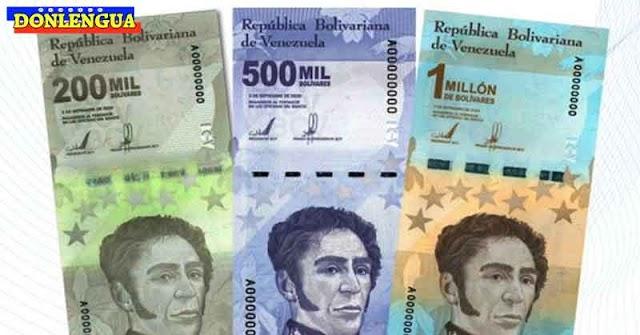 BCV anuncia puesta en circulación de nuevo billete de 100 millones de millones de Bolívares normales