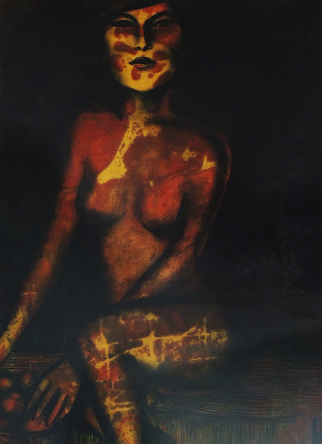 Farnese de Andrade Neto pintura contemporánea figura
