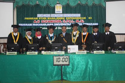 Teliti inovasi madrasah, Aji Sofanudin raih doktor Unnes
