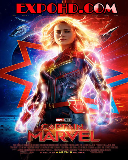 Captain Marvel 2019 IMDb 480p | BluRAy 720p | HDRip x265 G.Drive [Watch Now]