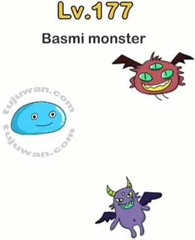 membasmi monster brain out di level 177