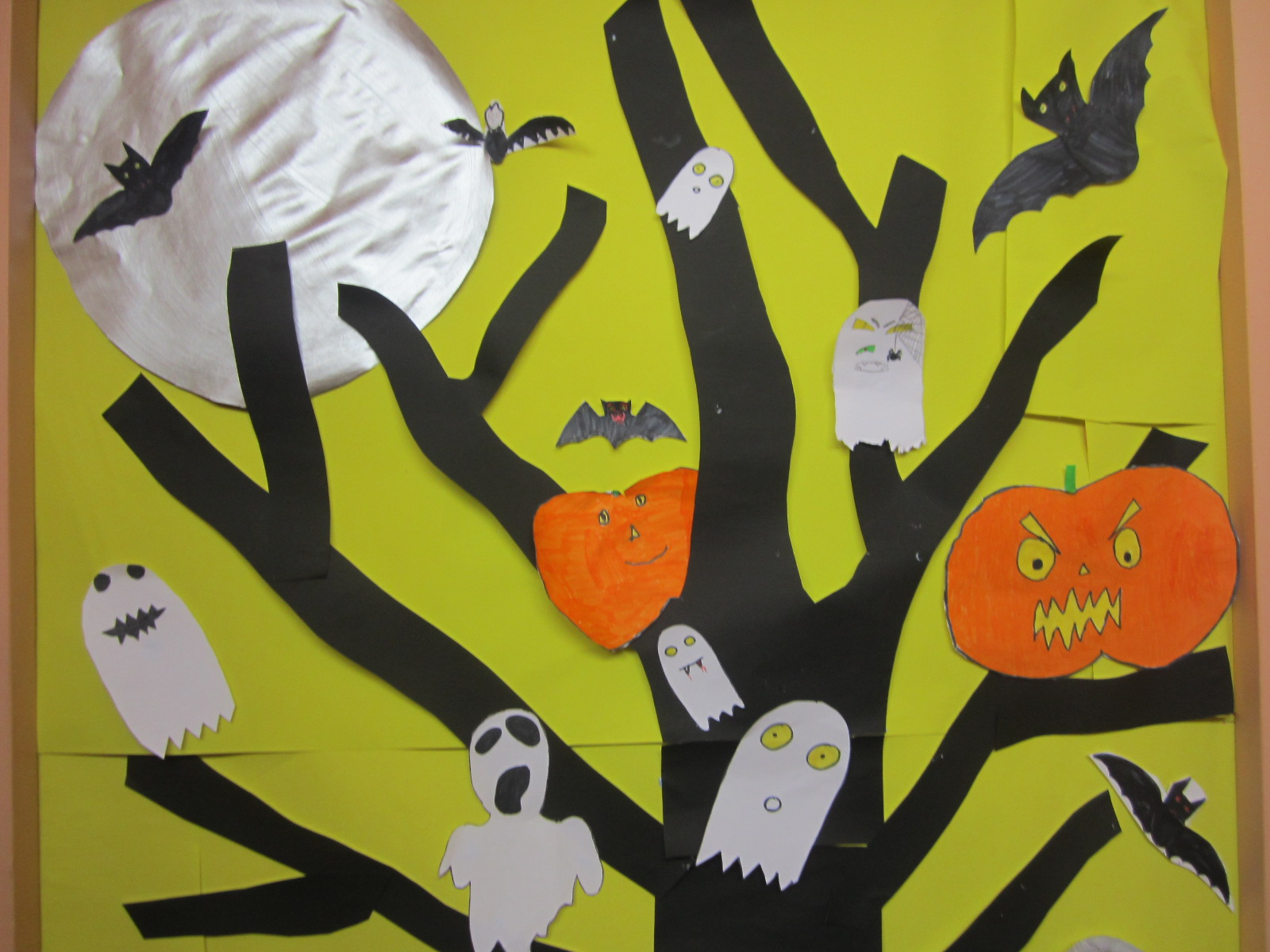 Halloween Arts And Crafts Construction Paper