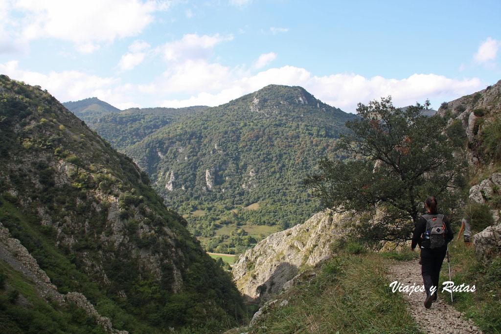 Desfiladero de las Xanas (Asturias)
