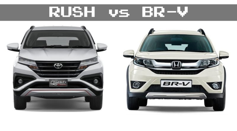 Harga Honda BRV dan All New Rush 2018 di pekanbaru riau