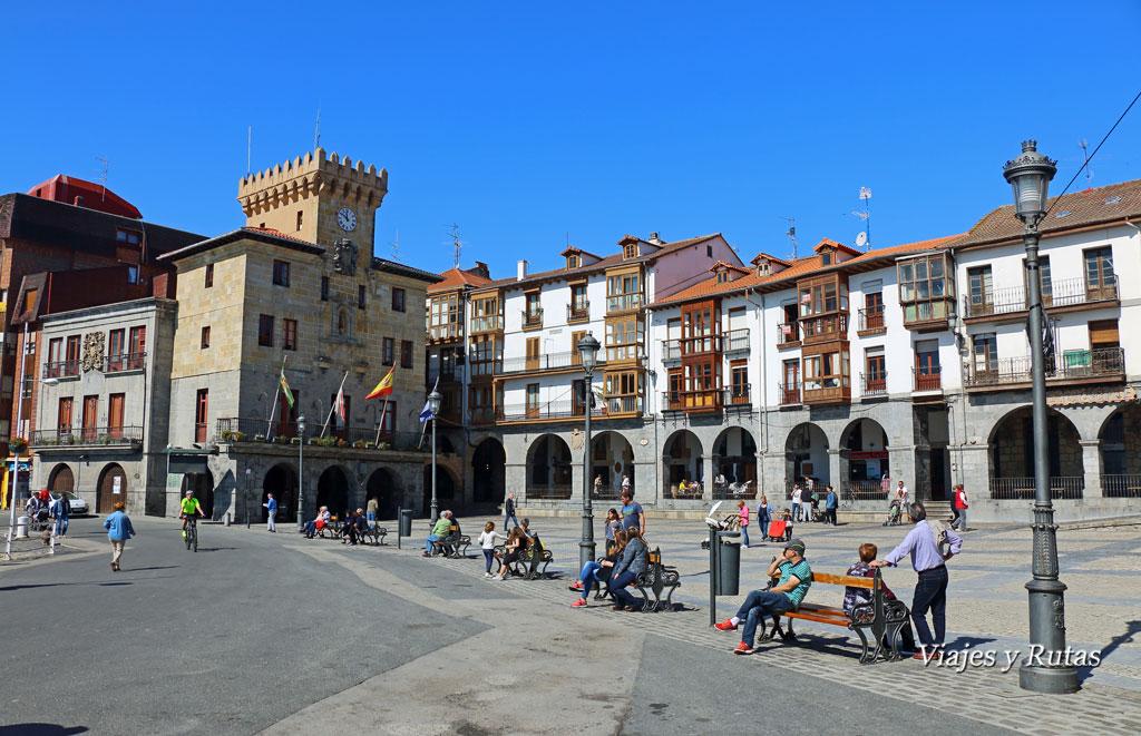 Plaza del ayuntamiento de Castro Urdiales