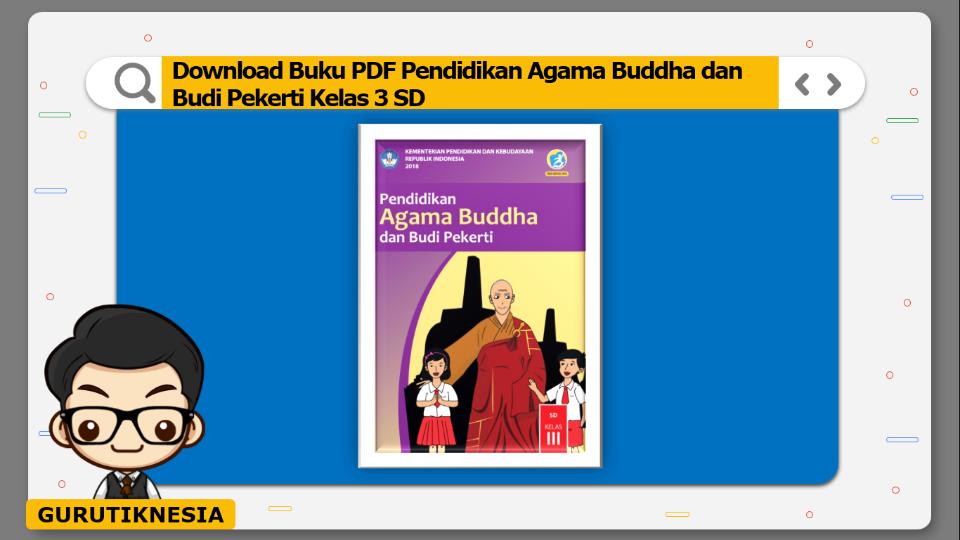 download buku pdf pendidikan agama buddha dan budi pekerti kelas 3 sd