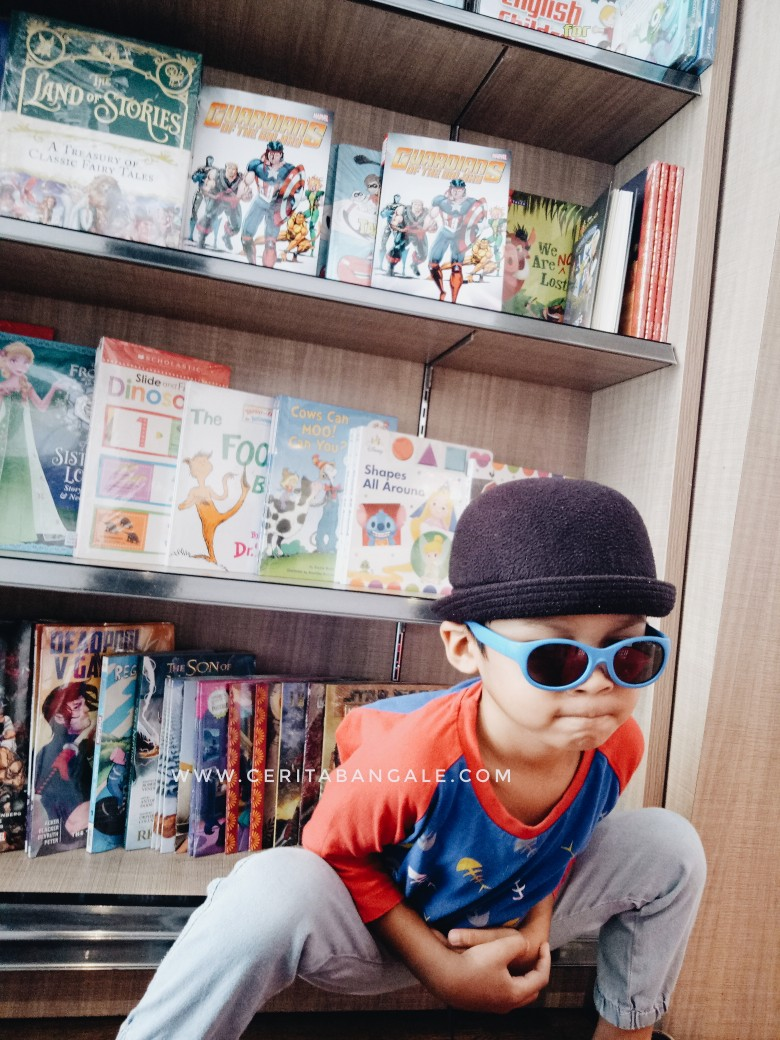 tips agar anak cinta baca buku