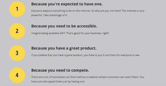 Why does your business need a website? | Misis Tagle | grphXdsgn