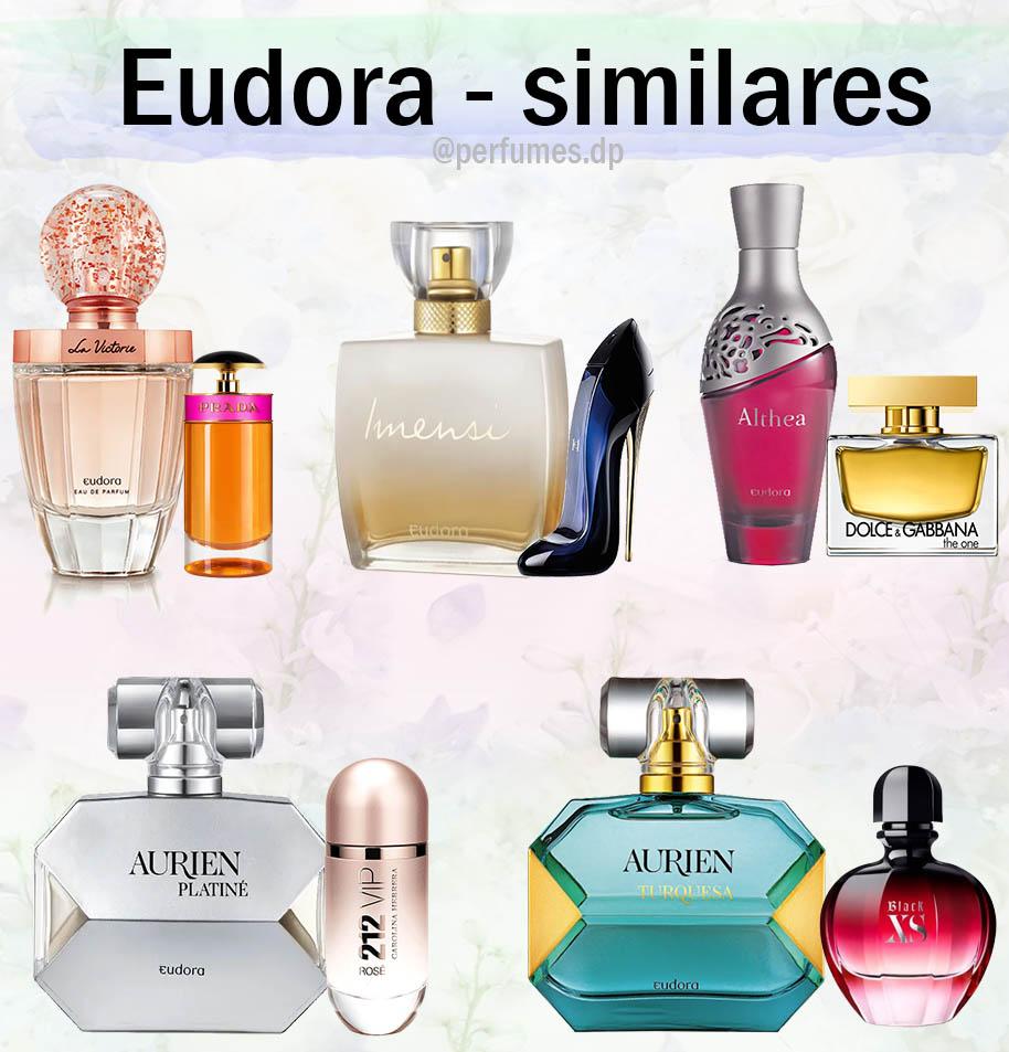 Perfumes Eudora similares