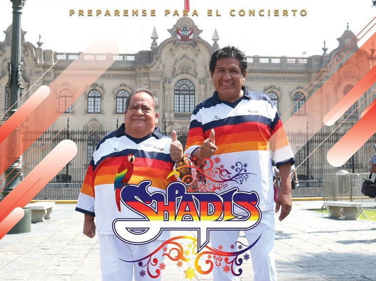 Los Shapis preparan concierto por el Bicentenario de la Independencia del Perú
