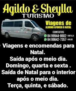 Almino Afonso/RN: Viagens e encomendas para Natal/RN