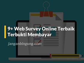 9+ Web Survey Online Terbaik yang Terbukti Membayar - Responsive Blogger Template